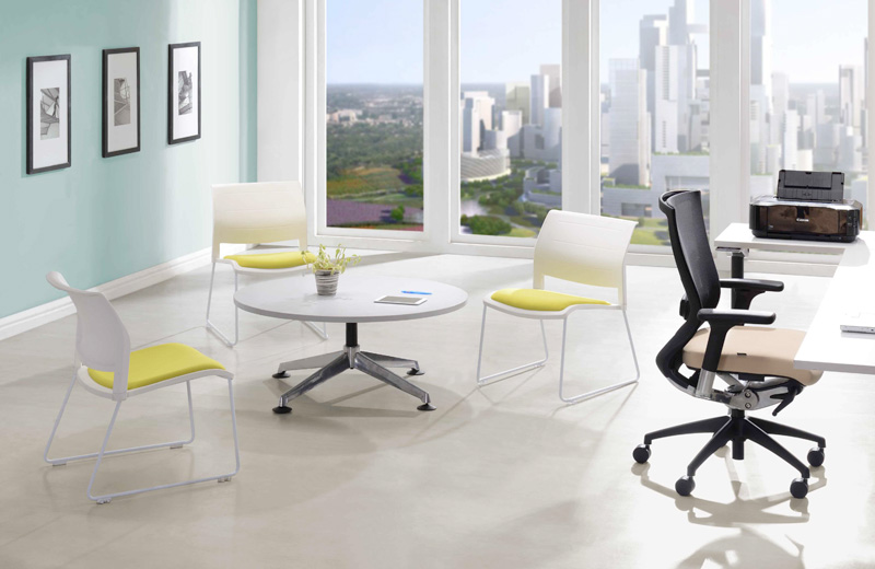 NAVA collection is available in different height of seating posture, giving users the most ultimate sitting experience while brainstorming