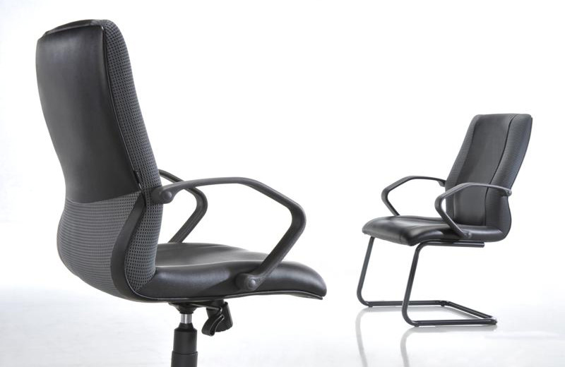 A good office environment beckons a conducive working environment. What chair fits your office staffs? If you are looking for one, look no further. POVO, the ergonomically designed chair is at hand. The ergonomic chair features a grey mesh contoured backrest combined with BIFMA tested components. The chair comes with Titanium grey concept with safety, durability and strength in design. This combination of ergonomics and reliability provides superior lower back support and superior comfort. POVO the chair that blends the office and fittingly ideal for the staffs.