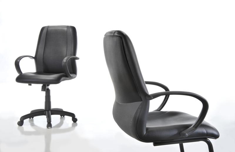 Designed with the intention for comfort of the office staffs, RAVO chair boasts as a seat that is simultaneously strong and pleasant. It is BIFMA tested for its assurance in quality, durability and reliability. The seatback with the grey mesh safety seatbelt-like-design invokes a sense of security and protection. This Titanium grey concept marvel offers not only comfort seating but also an environment of equality at work.
