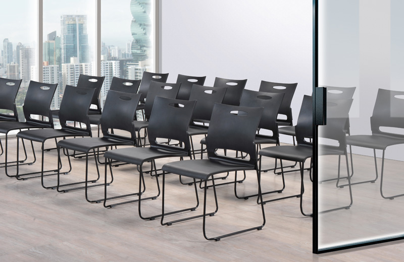 Inspired by the fluid shapes in nature, Viyaz generates a perfect balance of design and utility. The stackable Viyaz is applicable for all cafés, training, meeting, learning or multi-collaboration zone.