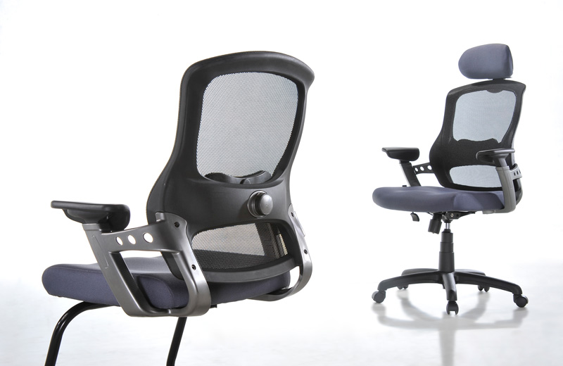 WINO, specially featured for modern office! This professional ergonomic chair features a thickly-padded contoured seat with moulded mesh back and built-in lumbar support for optimal comfort. With WINO ergonomic chair, you can get your work done without worrying about back pains and it allows you to sit in comfort all day long. Highly durable, it comes with a wide range of beautiful colours to choose from and Its components are BIFMA tested to ensure safety and security while seating. 'WINO' presents a remarkable look and reflects great value with safety comfort.
