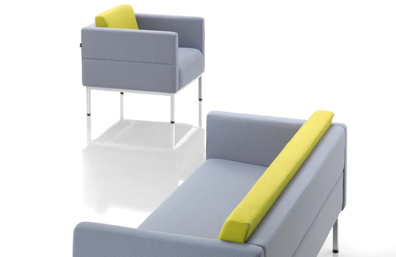 The modern contemporary Xavino sofa, plan the office aesthetically with the comfort lounge seating.